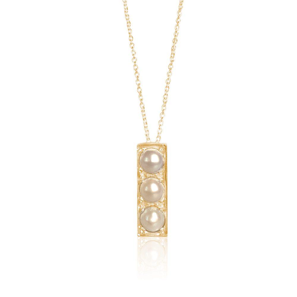 Gaia Jewels - Marguerit halskæde, guld