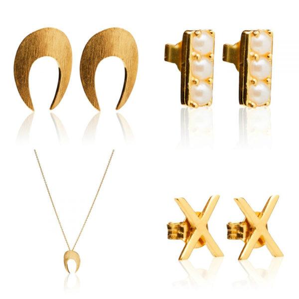 Adventsgave - Den søde elegante - Forgyldt - Den elegante guld