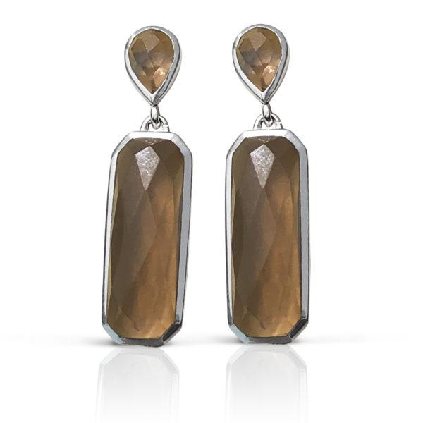 Mahogni - Sort rhodineret - Rogkvats Silver