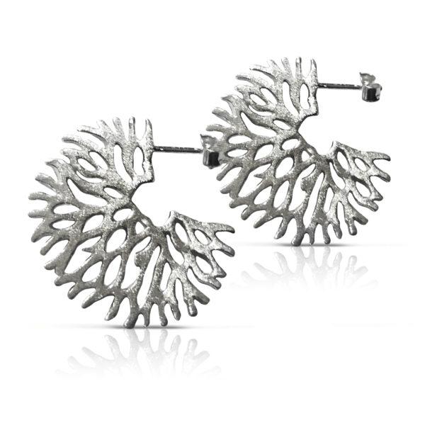 Koral Sort Rhodineret - Trae Silver