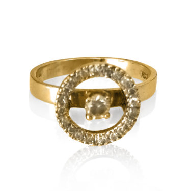 Gaia Jewels - Diamantring guld