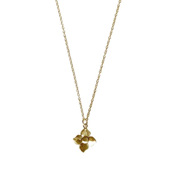 Gaia Jewels - Smørblomst halskæde, guld