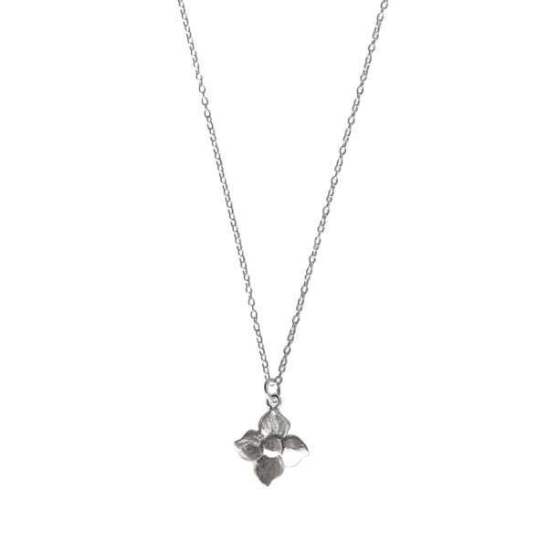Smørblomst kæde - Sølv - halskæde sølv