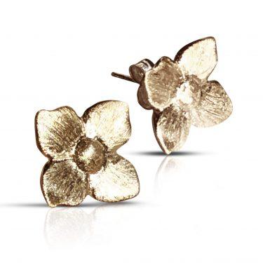 Gaia Jewels - Smørblomst øreringe, guld